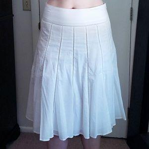 Jones NY White Skirt
